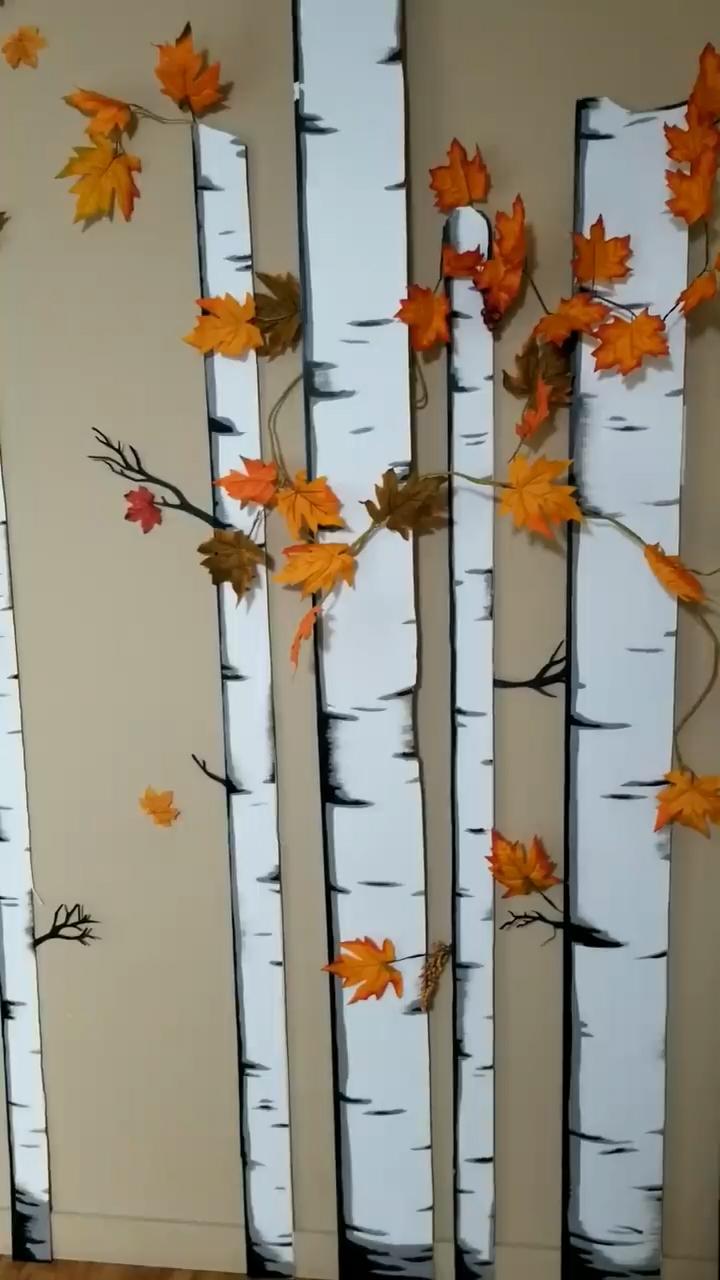 Birch Tree backdrop