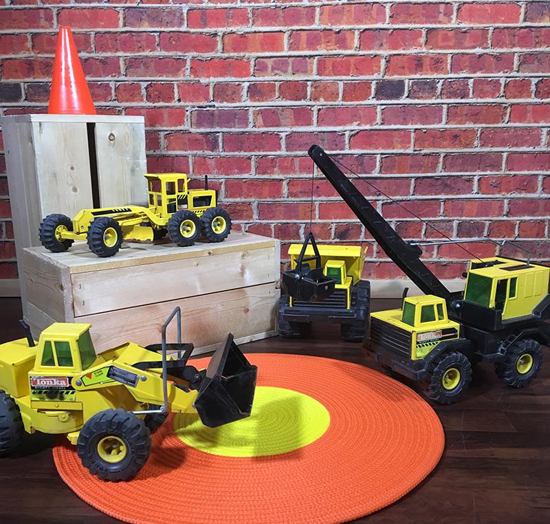 Construction backdrop CR 800