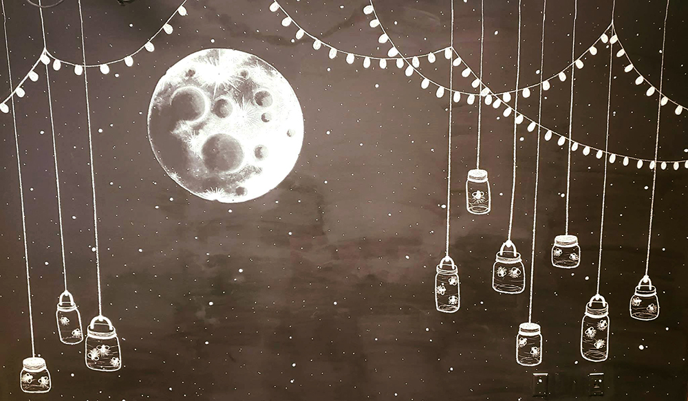 Moon and stars 1000 PS
