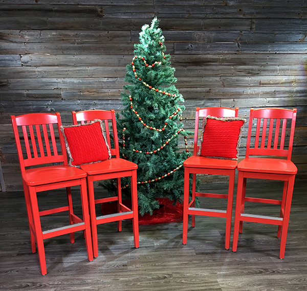 Red Chairs and Tree PS 600