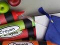 Grad crayons