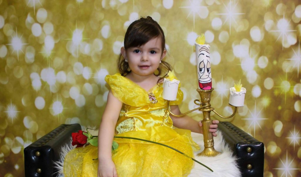 Beauty And The Beast Little Charleigh Was Adorable As Belle The